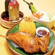 Rice from Bacolod Chicken Inasal