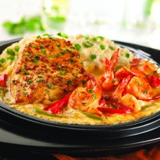 Sizzling Chicken & Shrimp by TGIF
