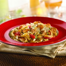 Cajun Shrimp & Chicken Pasta by TGIF