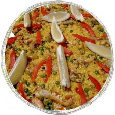 Delicious paella Parillada by Alba