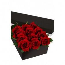12 Long Stem Roses Presentation Box