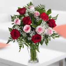Mixed Dozen in a Bouquet