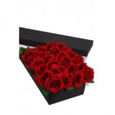 24 Long Stem Roses Presentation Box