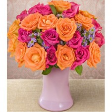Candy Burst in a Bouquet