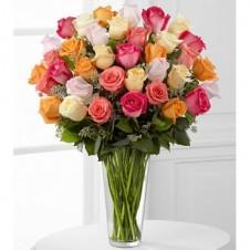Graceful Grandeu Rose in a Vase