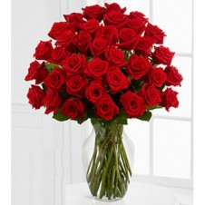 Five Dozen Premium Red Roses in a Bouquet