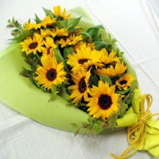 6pcs Sunflower in a Bouquet