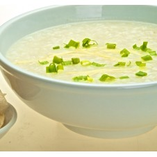 Plain Congee by Super Bowl