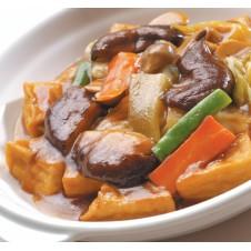 Braised Tofu with Mushroom by Super Bowl