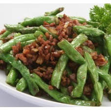 Stir Fried Baguio Beans with Minced Pork by Super Bowl
