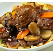 Sliced Beef Oyster Sauce by Super Bowl