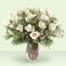 White Impress in a Vase