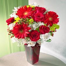 Cheerful Greetings in a Vase