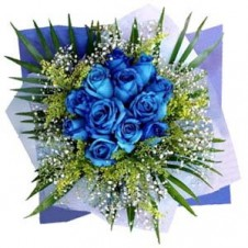 36 pcs. Imported Holland Blue Roses* in a Bouquet