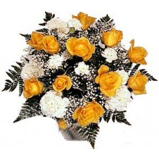 Bright and Cheery Hand-Tied in a Bouquet