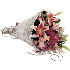 Pretty Wrapped Bouquet