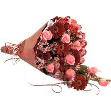 Attractive Wrapped Bouquet