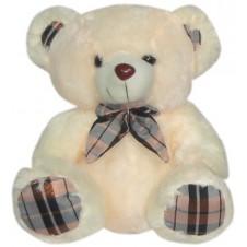 Bear w/ Checkered Scarf & Feet