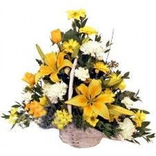 A Basket of Flowers 1