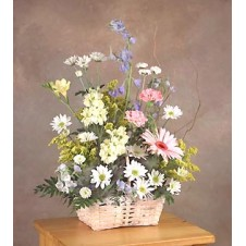 A Basket of Flowers 4