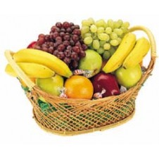 A Basket of Fresh Fruits