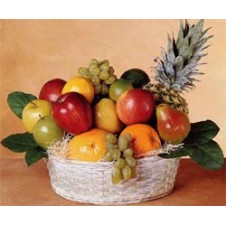Basket of Fresh Fruits 1