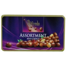 Alfredo: Assortment Milk Choco 180g