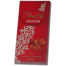 Lindt Lindor Milk Chocolate 100g