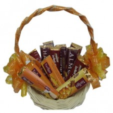 Assorted Chocolate Lover Basket 8