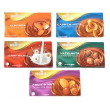 Vochelle Chocolate Bar in Different Variants