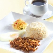 Shredded Adobo Meal by Max's