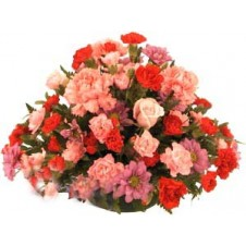 Rounded Centerpiece Arrangement Flowers
