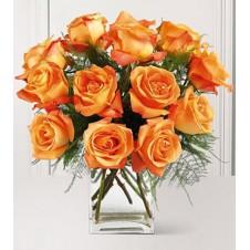 1 dozen Orange Vase