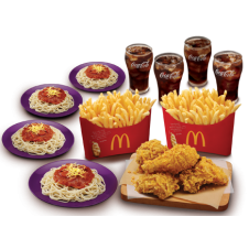 BFF Chicken Bundles by Mc Donalds