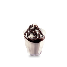 Hot Fudge Sundae by Mc Donalds