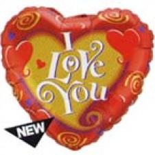 1 pc I LOVE YOU Balloon