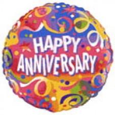 1pc Happy Anniversary Balloon
