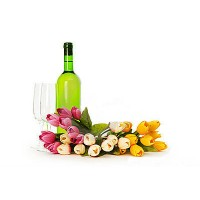 Flowers with Wines