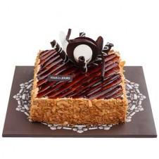 MOCHA CRUNCH CAKE (SQUARE)