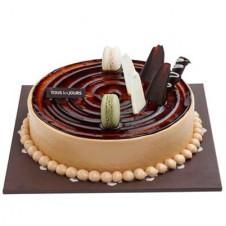 MOCHA CRUNCH CAKE (ROUND)
