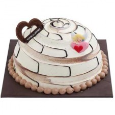 CHOCOLATE MARBLE DOME by Tous les Jours