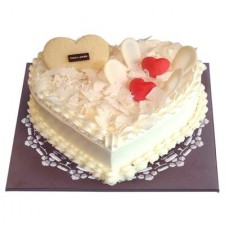 WHITE HEART CAKE