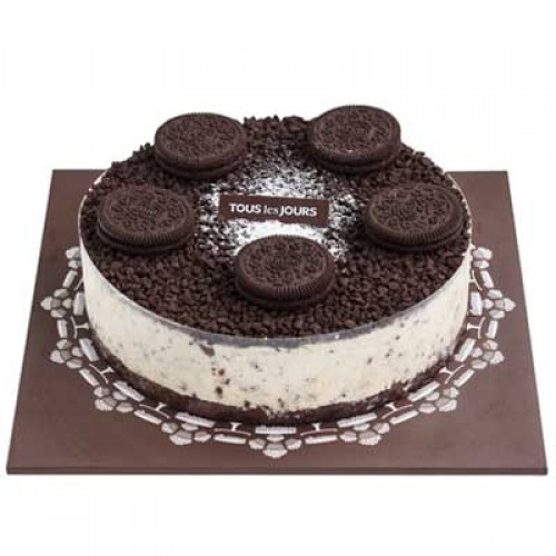 COOKIE CREAM CHEESE CAKE By Tous Les Jours