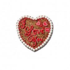"Big Cookie Cake Heart 14"" by Mrs. Fields"