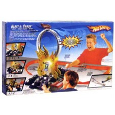 Hotwheels Blast & Crash Set