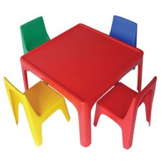 Kiddie Chairs and Tables