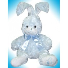 "Happy Hazel - Blue Rabbit (Size: 17"") by Blue Magic"