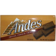 Andes Toffee Crunch Thins 28 pieces