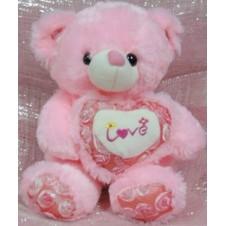 Pink Love Bear