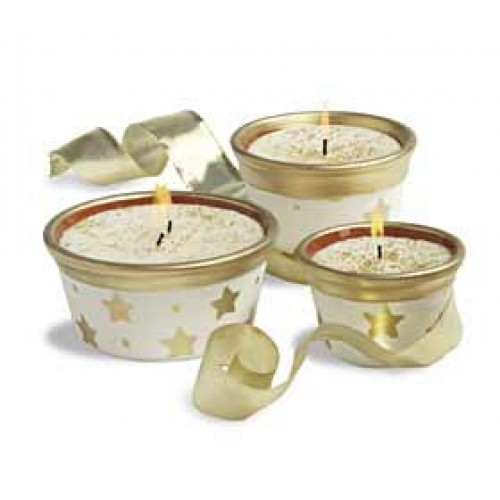 Star Candle Pots